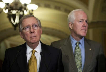 mcconnellcornyn090913 445x302 10 Senators to Watch This Week on Syria