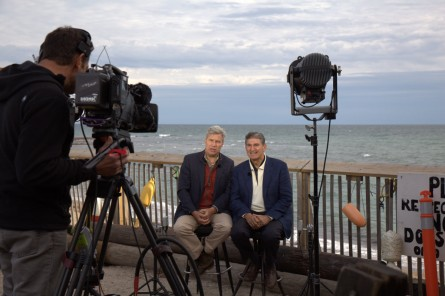 IMG 2263 445x296 Senate Odd Couple Seeks Common Ground on Climate Change