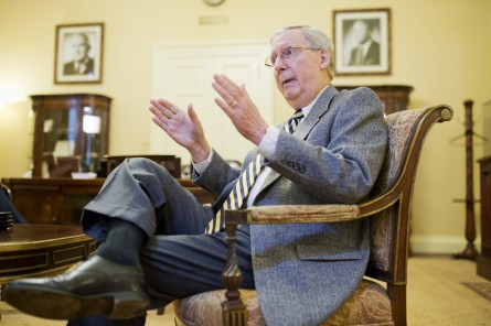 mcconnell004 120514 445x296 Mitch McConnell Interview Transcript