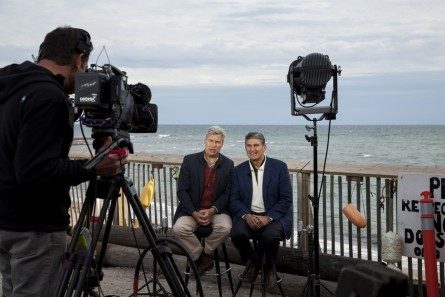 Whitehouse invited Manchin to the Rhode Island coast in October. (Niels Lesniewski/CQ Roll Call)