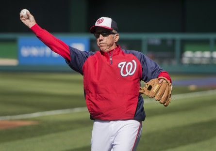 Davey Johnson's Nationals host the Milwaukee Brewers on the Fourth of July. (Tom Williams/CQ Roll Call.)