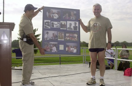 Lugar was a fixture of the Capital Challenge 5K. (CQ Roll Call File Photo.)