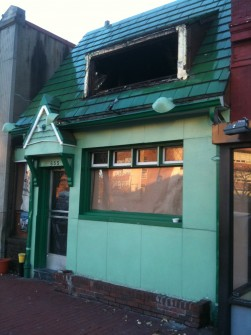Dead and gone. The former Li'l Pub on Capitol Hill. (Jason Dick/CQ Roll Call)