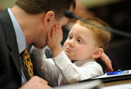 A real Father's Day gift for Capitol Hill: paternity leave (CQ Roll Call File Photo).