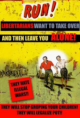 Libertarian terror