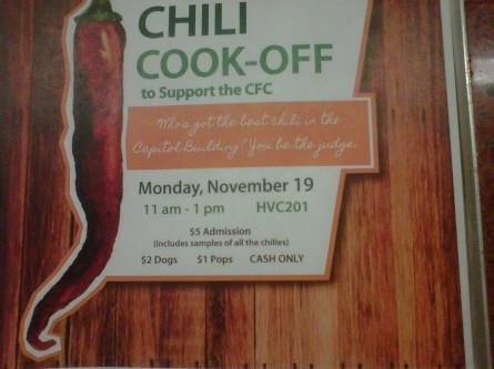 AOC cook-off