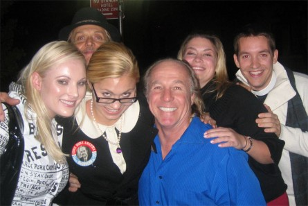 Meghan McCain, La-Toria Haven and Jackie Martling hanging in 2007
