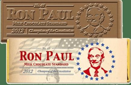 Ron Paul chocolate bar