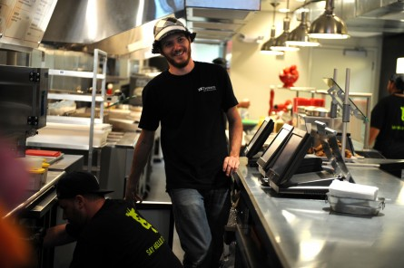 Celbuchef Spike Mendelsohn will help fete Horton's Kids at Nationals Park. (CQ Roll Call file photo.)