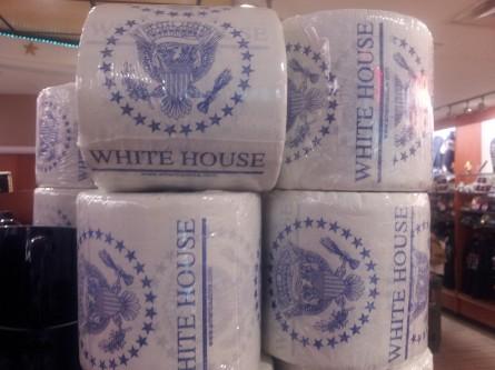 White House toilet tissue