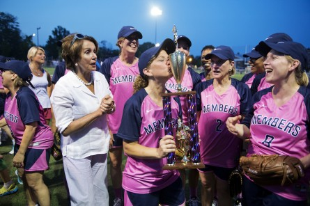 Members Beat Babes in Congressional Womens Softball Game