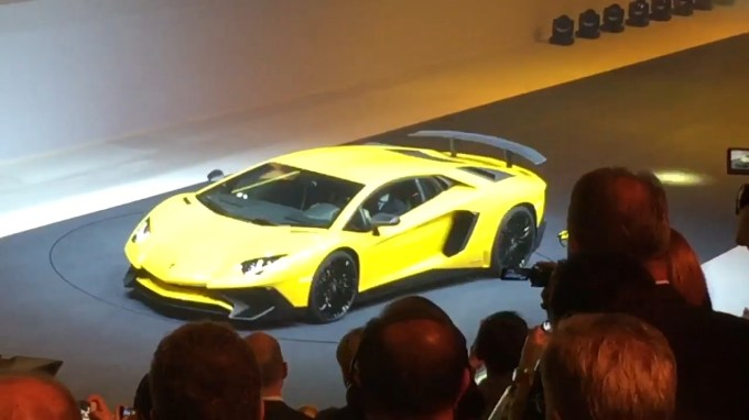 Lamborghini Aventador SV | 2015 Geneva Motor Show | Autoblog Short Cuts