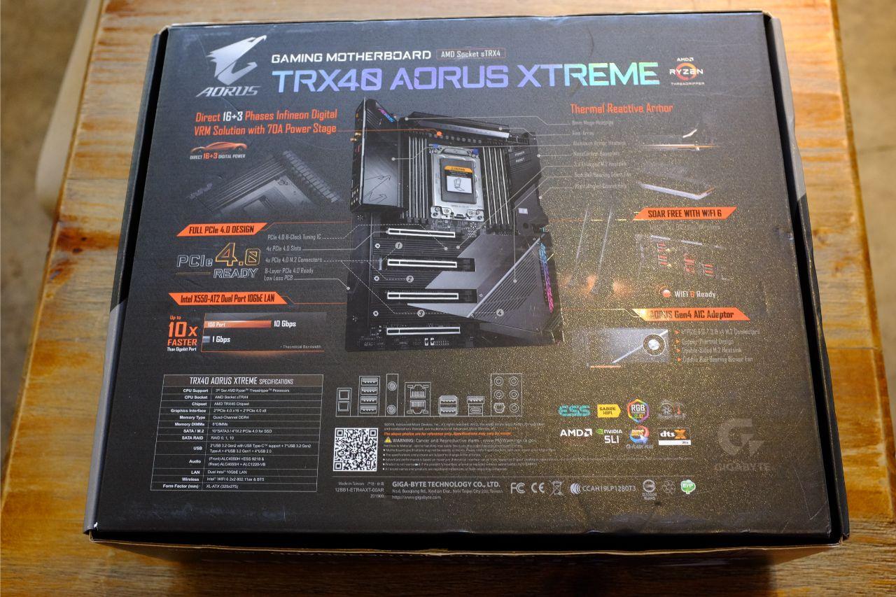 TRX40 AORUS XTREME