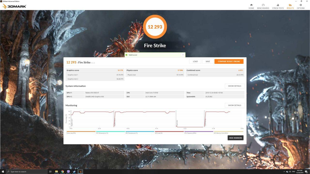 Gigabyte RX 5500 XT Gaming OC 8G