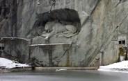 Löwendenkmal (垂死獅子像)