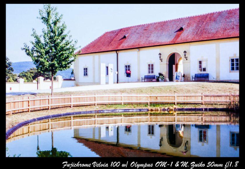 Schlosshof 入口
