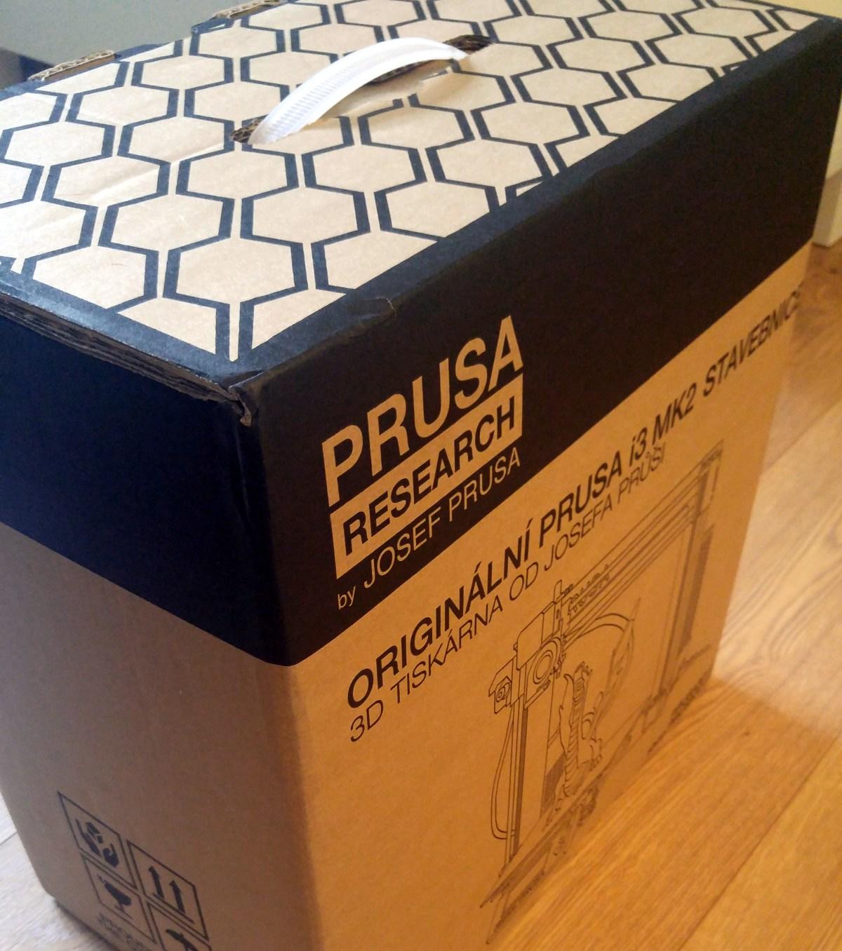 開箱文:Original Prusa i3 MK2S