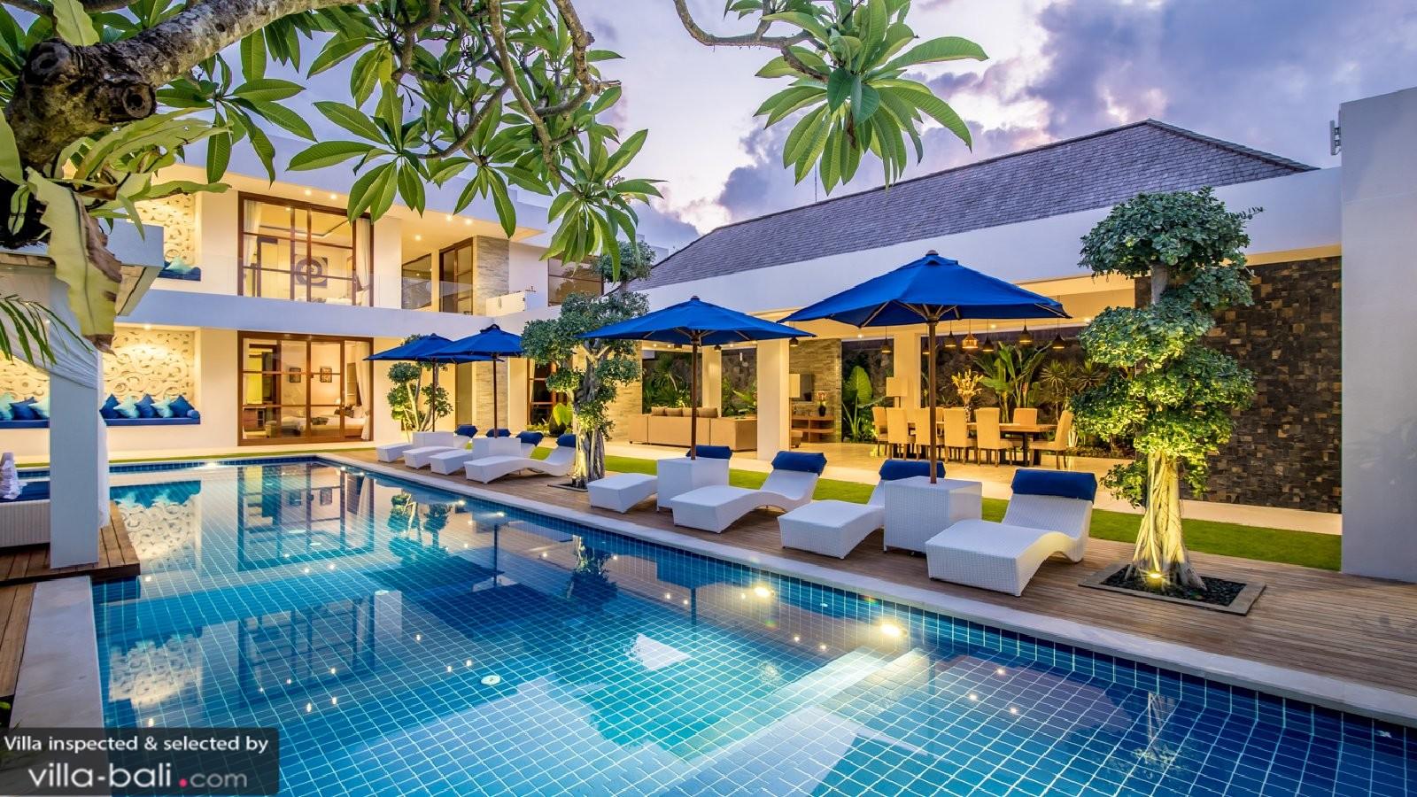 Freedom Villa In Seminyak Bali 5 Bedrooms