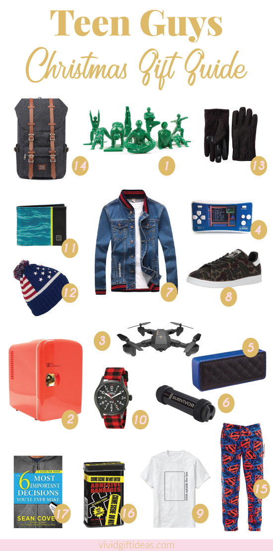 36 Unique Christmas Gifts For Teen Boys 2018 Updated List