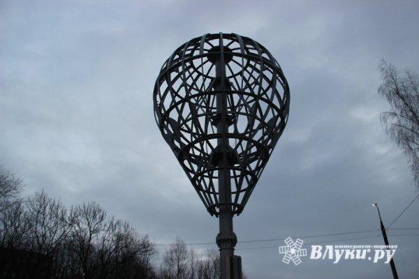 Великие Луки : Площадку у будущего знака воздухоплаванию ...