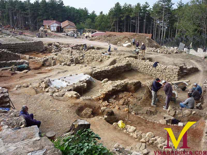 Polyconch Basilica Excavation Ohrid, Macedonia.