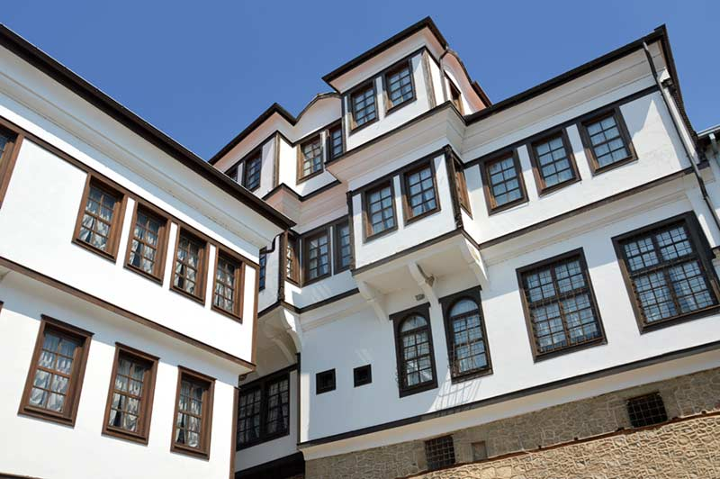 Robevi house, Ohrid.