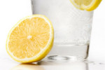Kick-start your day with lemon and water