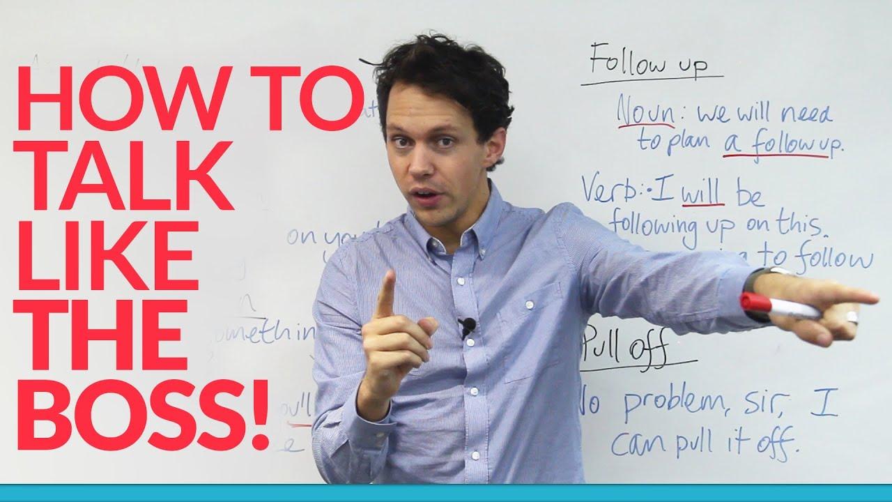 【情境英語】老闆這樣說英文 (Learn English: How to talk like the boss) - VoiceTube《看影片學英語》