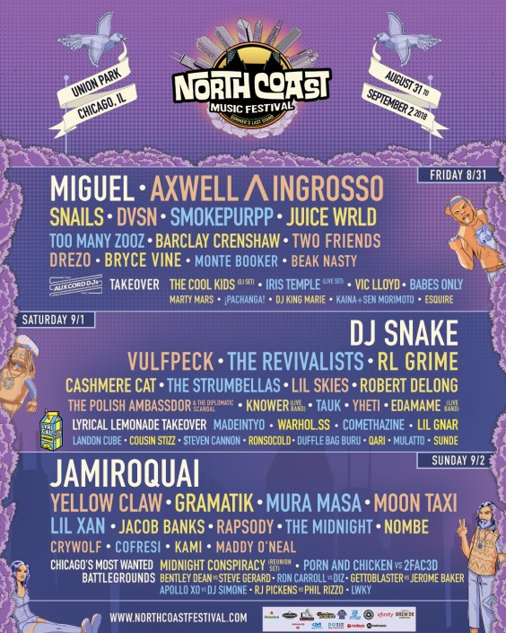 Image result for north coast music festival 2018