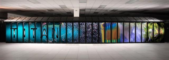 Titan supercomputer