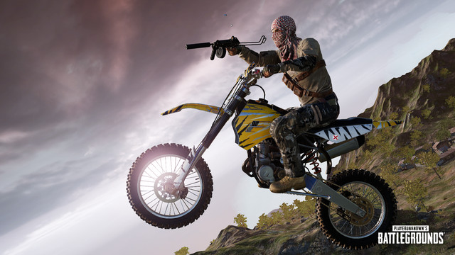 PUBG_S9_Patch9.2_DriverShooter_02.0 PUBG's latest patch adds a new dirt bike and lets you shoot while driving   Polygon