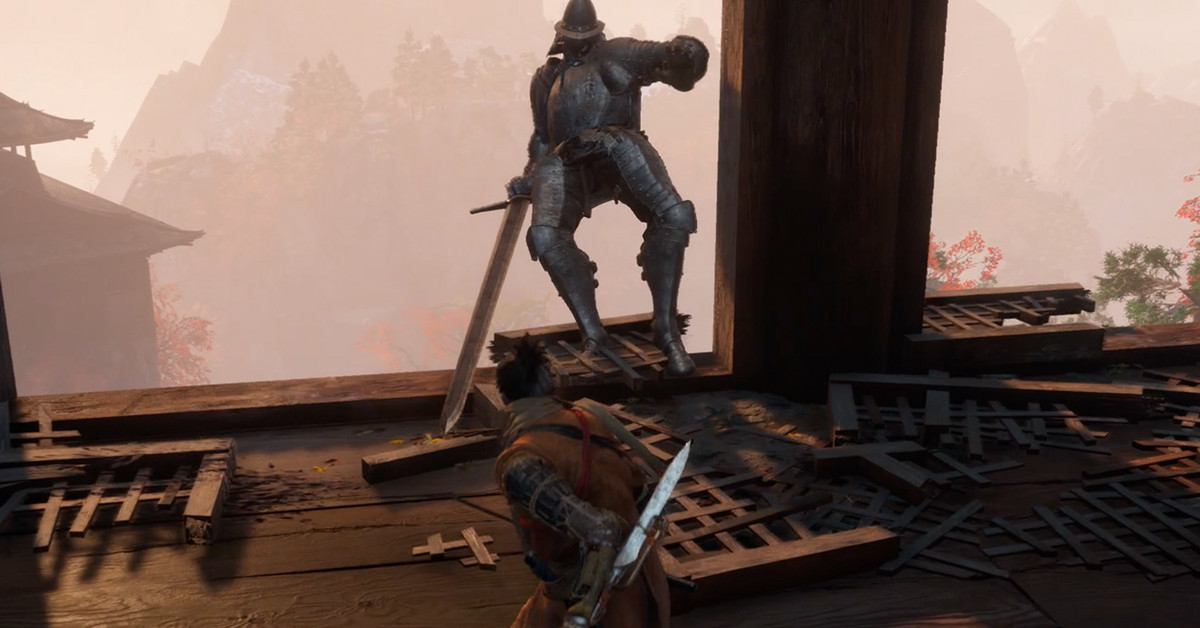 Sekiro Armored Warrior Boss Guide Polygon