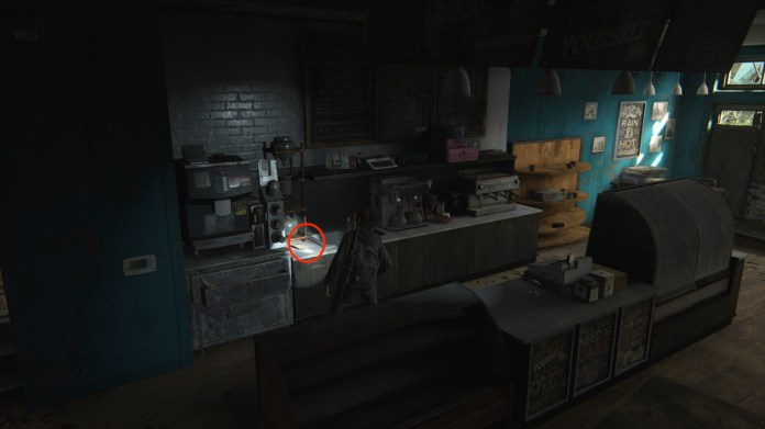 Rebecca's Tip Off Artifact collectible The Last of Us Part 2 Seattle Day 1 (Ellie)