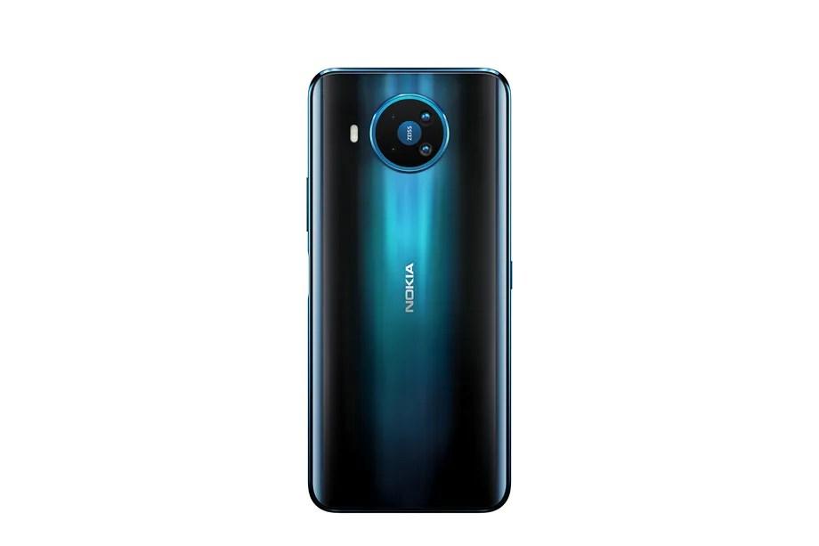 Nokia 8.3 5G Rational Polar Night Back PNG - نوكيا تكشف عن أول جوال يدعم شبكات 5G