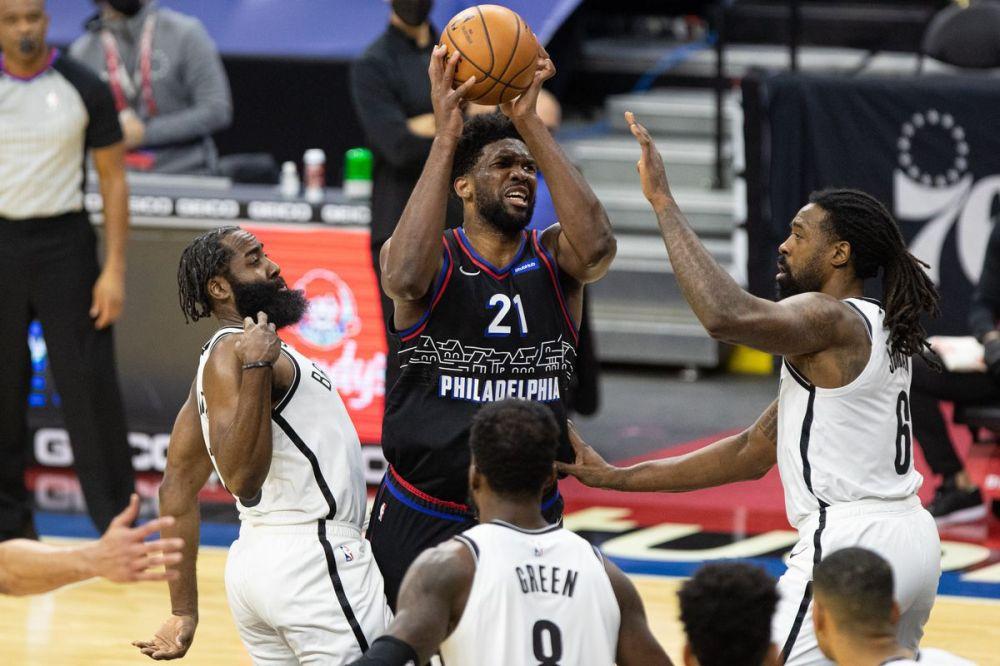 Αποτέλεσμα εικόνας για Philadelphia 76ers - Brooklyn Nets 124-108