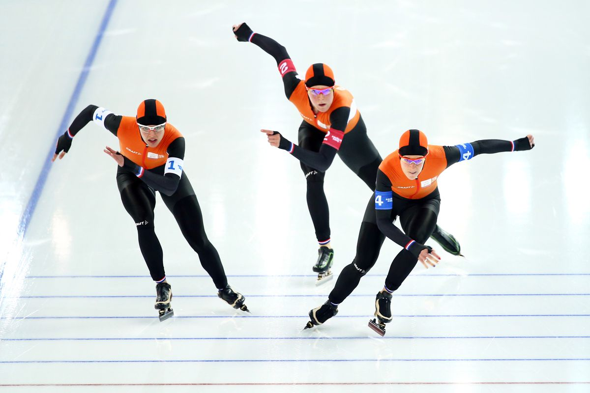 2014 Olympic Speed Skating Results The Netherlands Leaves