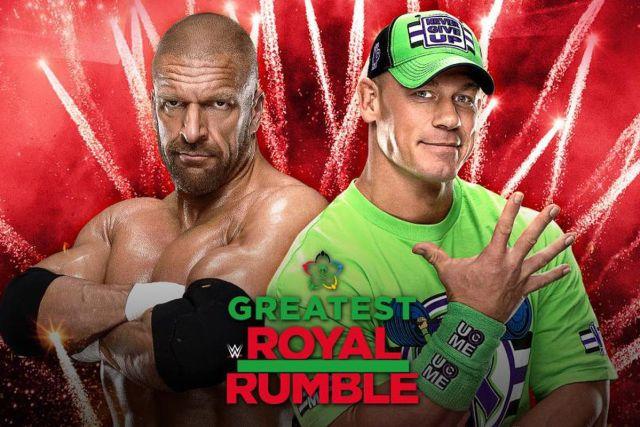 John Cena vs Triple H