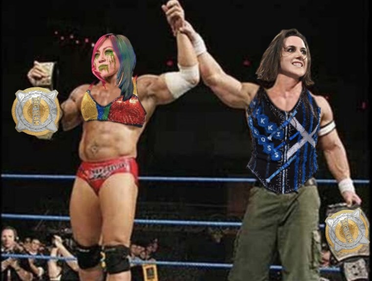 Asuka just sold me on a WWE Women's Tag title run for her & Nikki Cross