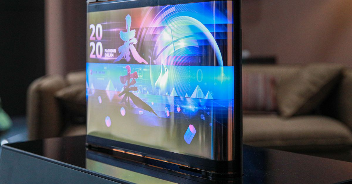 TCL shows rollable, extendable displays at CES 2021