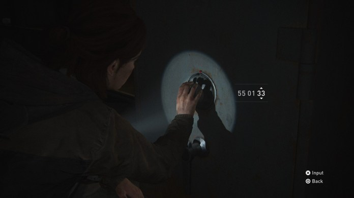 Thrift Store Safe and combination collectible The Last of Us Part 2 Seattle Day 1 (Ellie)