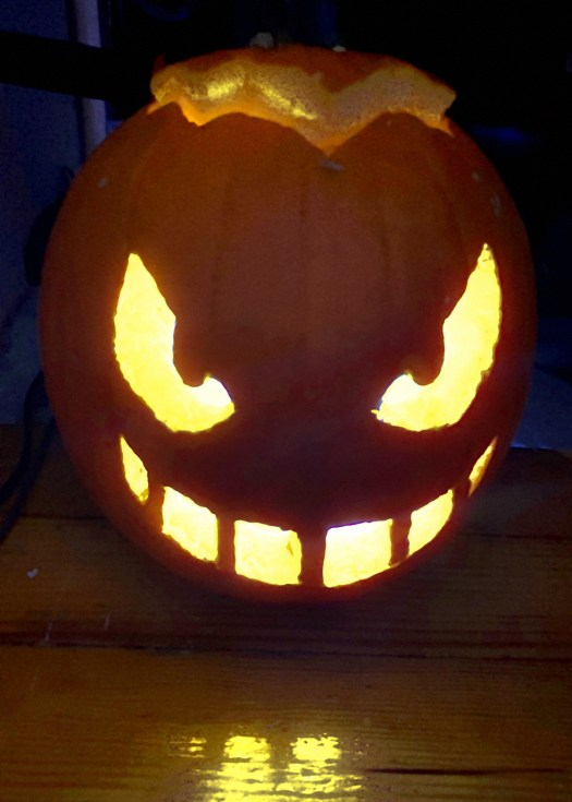 Scary video game jack-o-lanterns from Polygon's staff 2
