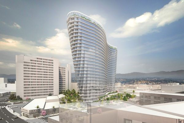 Studio Gang unveils first LA project: a 26-story tower in ...