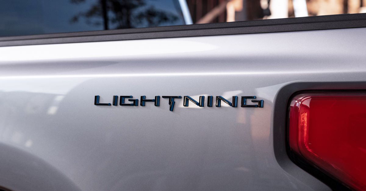 Ford's first electric pickup truck will be called the F-150 Lightning