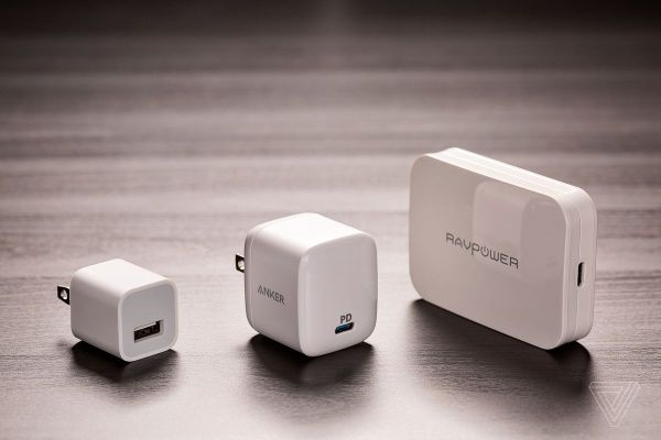 The next generation of wall chargers is getting smaller ...