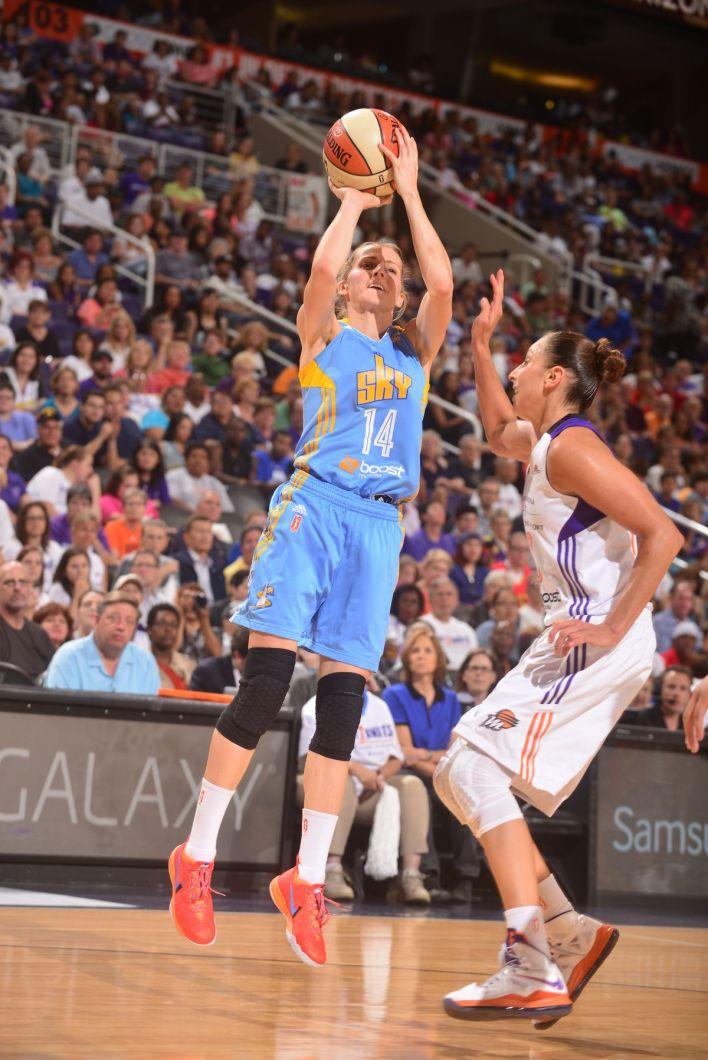 Chicago Sky vs. Phoenix Mercury-2014 WNBA Finals-Game 2