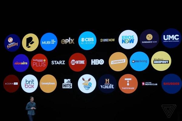 Andere TV-kanalen komen ook naar Apple TV Plus