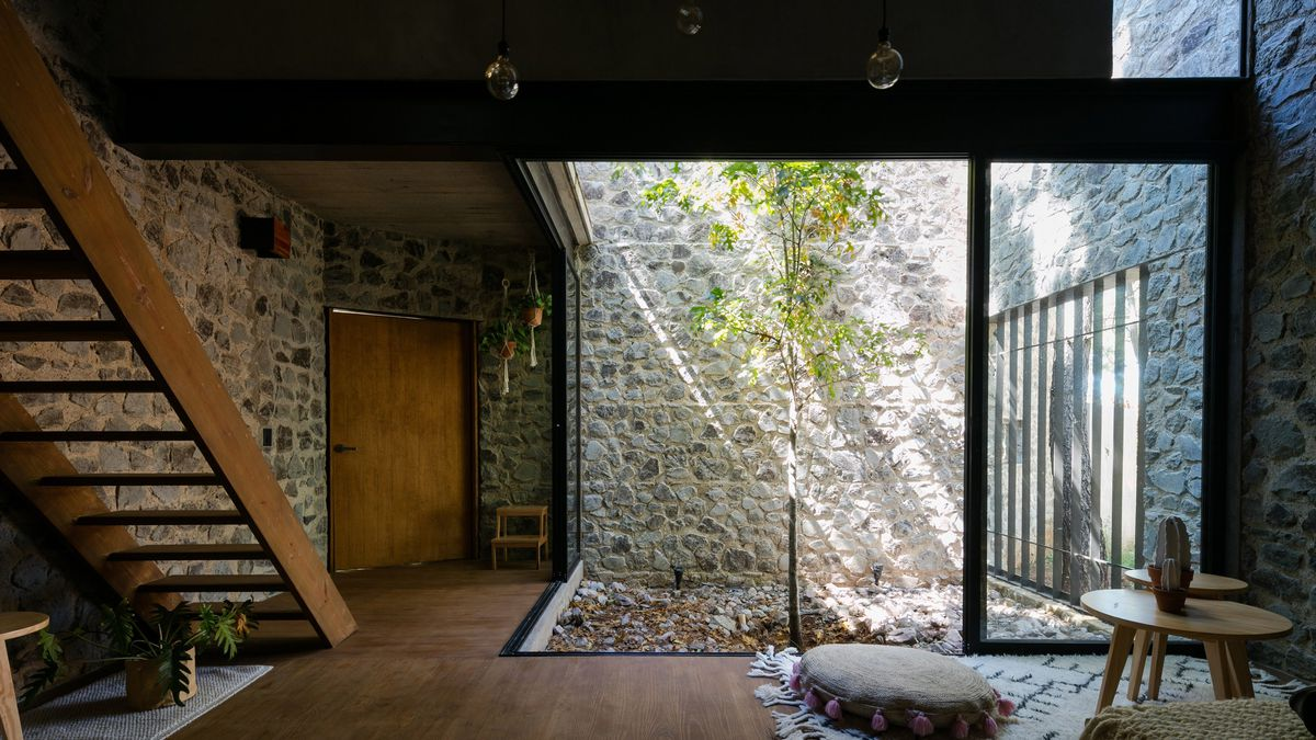 Mexican Stone House Marries Old And New Curbed