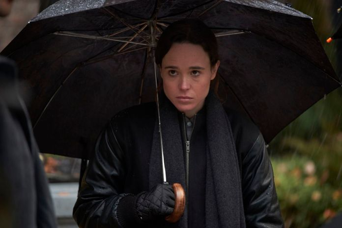 Ellen Page as Vanya in The Umbrella Academy