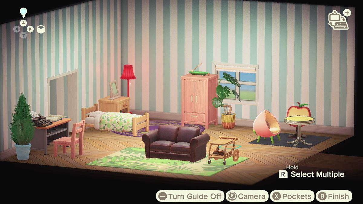 Animal Crossing: New Horizons house design tips - Polygon on Animal Crossing Room Ideas New Horizons  id=40357