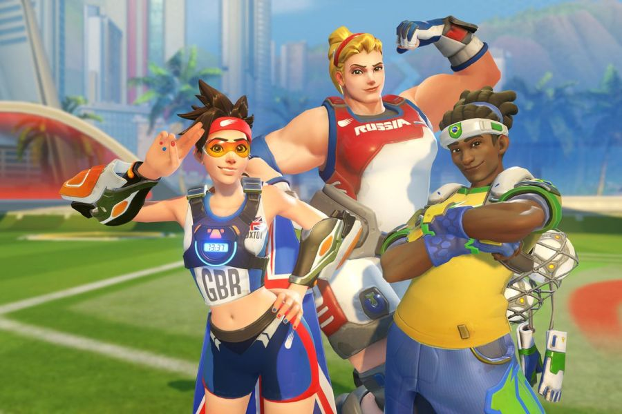 Overwatch s Summer Games event returns Aug  8   Polygon Overwatch Summer Games 2016 Blizzard Entertainment